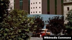 Pamje e një ndërtese në Oregon
