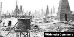Çar Rusiyası dövründə Bakıda neft mədənləri