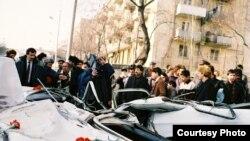 Bakı, yanvar 1990-cı il