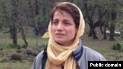 Иранская правозащитница Насрин Сотудей.