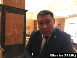 Шынболат Байкулов, председатель правления ассоциации KazWaste. Шымкент, 5 декабря 2018 года.
