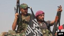 Сирійські повстанці поблизу Алеппо