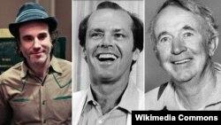 soldan sağa: Daniel Day-Lewis, Jack Nicholson, Walter Brennan