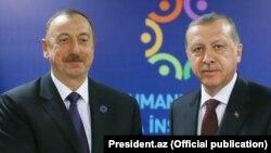 İlham Əliyev və Receb Tayyib Erdoğan