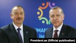 İlham Əliyev və Recep Tayyip Erdoğan