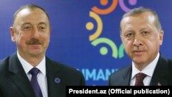İlham Əliyev və Erdoğan