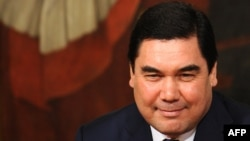 Туркменистанскиот претседател Гурбангули Бердимухамедов.