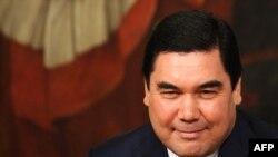Түркіменстан президенті Гурбангулы Бердімұхамедов.
