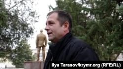 Володимир Балух після засідання суду, 12 грудня 2017 року