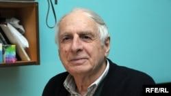 Клаус Киладзе, чьи родители были репрессированы в советское время. Тбилиси, 4 февраля 2009 года.