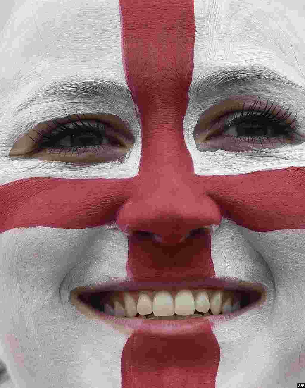 هوادار تیم ملی بریتانیا
