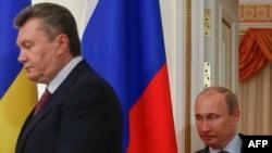 Јанукович и Путин