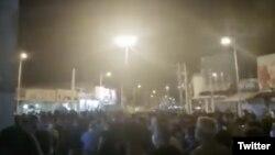 Протесты в Ширазе, 16 июля 2020 года