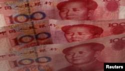 Банкноты в 100 юань