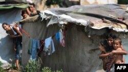 Romi într-o suburbie a Sofiei