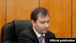 Ֆինանսների նախարար Դավիթ Սարգսյանը: