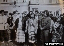 Удзельнікі моладевых суполак пачатку 1990-х