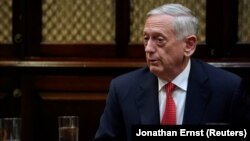 Aмериканскиот министер за одбрана Џејмс Матис