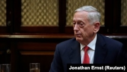 U.S. Defense Secretary James Mattis (file photo)