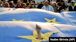 Zastava Evropske unije, ilustrativna fotografija