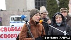 Митинг в защиту свободы слова в Ростове-на-Жону
