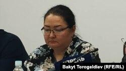 Анара Кыштобаева, адвокат Эмиля Макимбетова.