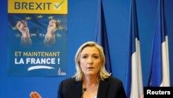 """Marine Le Pen: """"Najbolje oružje protiv terorizma je glasački listić""""."""