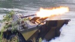 Blindatele rusești au trecut din nou râul Nistru