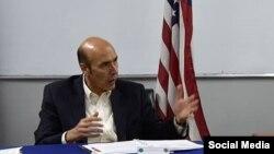هوگو لارنس شارژدافیر سفارت ایالات متحدۀ امریکا در کابل