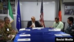 کابل کې د امریکا د سفارت شارژدافیر هوګو لارنس