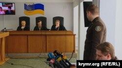 Одно из заседаний суда по делу о госизмене Виктора Януковича