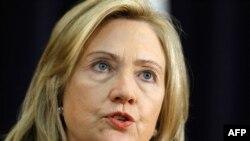 АҚШ Давлат котиби Ҳиллари Клинтон.