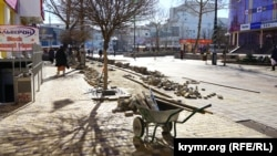 Тротуарная плитка в Симферополе