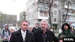 Дзьмітры Сьцепанец, Аляксандар Мілінкевіч