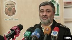 حسین اشتری فرمانده نیروی انتظامی جمهوری اسلامی ایران