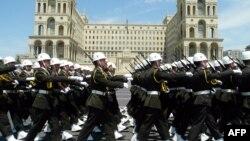 Ադրբեջանի բանակի զորահանդես Բաքվում, արխիվ