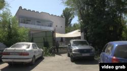 Здание центра «Акжол-М». Алматинская область, 21 августа 2018 года.