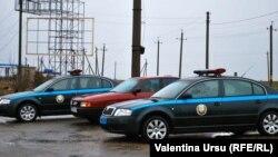 Mașini ale miliției la Tiraspol (foto: arhivă)