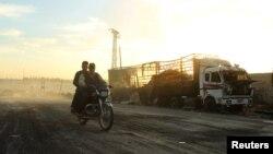 На окраинах Алеппо
