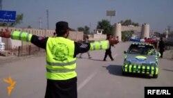 Pamje nga një kontroll i policisë në Khyber Pass të Pakistanit