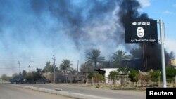 Архивное фото с места боев с ИГИЛ в Ираке