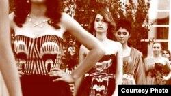 Nafisa Imranowanyň moda sergisinden bir bölek