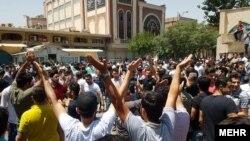 اعتراضات بازار تهران