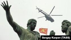 Помнік Мініну і Пажарскаму ў Маскве