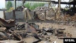 Кругот на фабриката Макстил - место на експлозијата