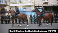 Поліцейські під час проведення «Маршу рівності»