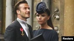 David Beckham və həyat yoldaşı Victoria