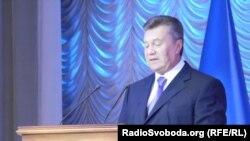 Віктор Янукович у Донецьку, 22 серпня 2013 року