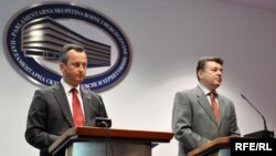 Trajko Veljanovski i Milorad Živković, Foto: Midhat Poturović