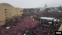 Женский марш в Вашингтоне